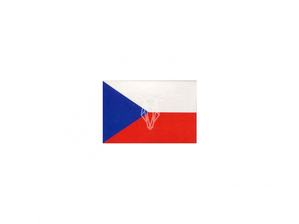 5987 1 samolepka vlajka ceske republiky 5 3 3 6 cm