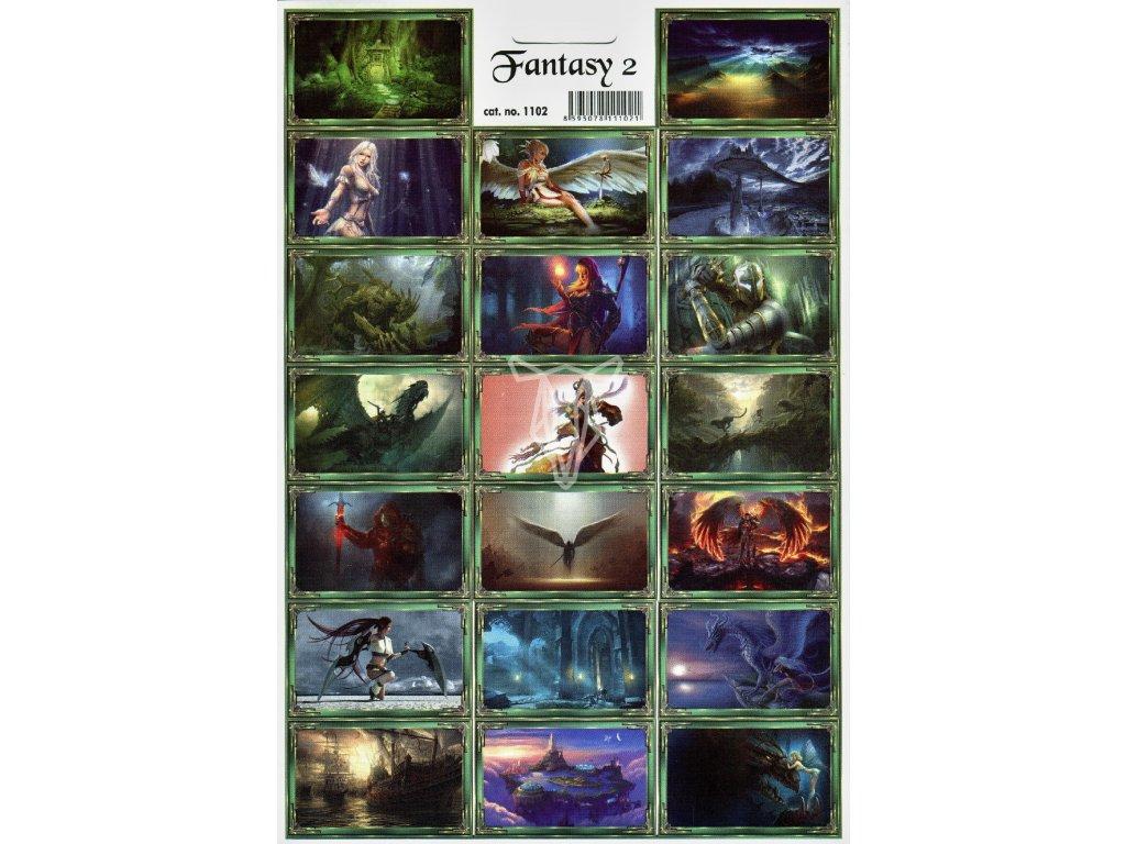 119 samolepky fantasy 2