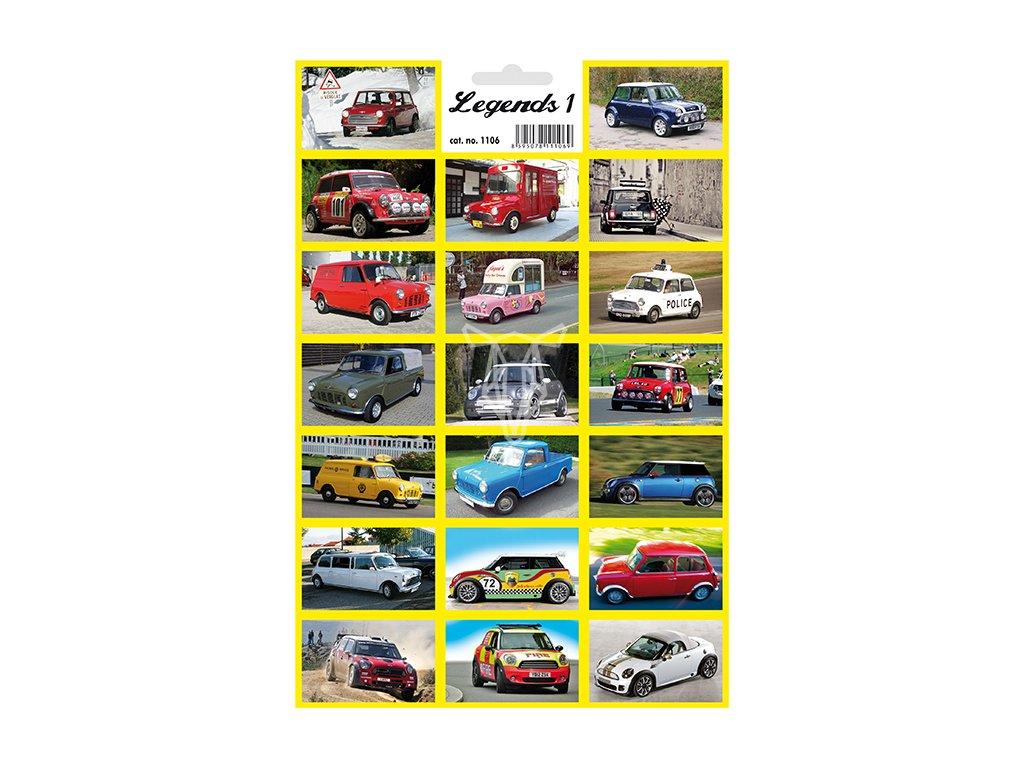 12455 1 samolepky legendy 1 legendarni auta mini cooper