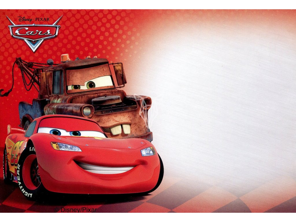 191 obalka disney cars auta