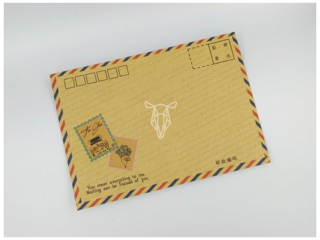 Obálka známky