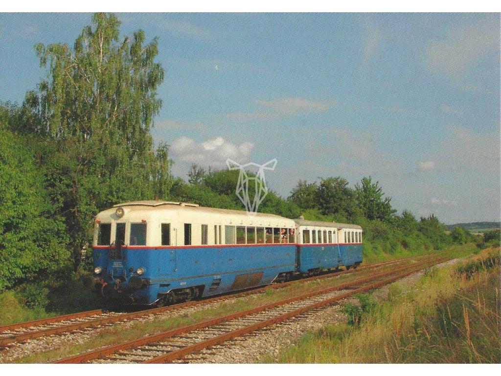 13274 2 vlaky m 274 004 modry sip v pohybu