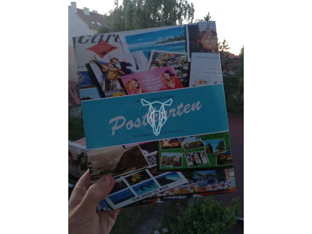 13643 4 album na pohlednice leuchtturm 200 pohledu 2 kusy na list