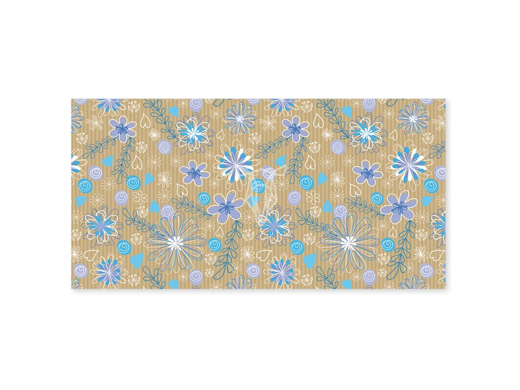 18665 obalka dl modrofialove kvety