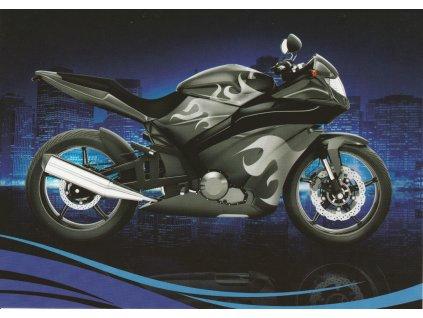 Pohlednice Moderní motorka 2