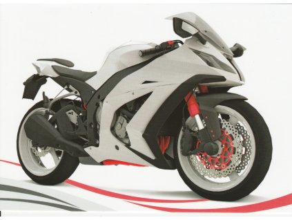 Pohlednice Moderní motorka 3