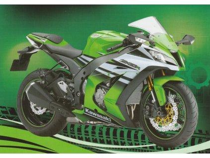 Pohlednice Moderní motorka 4
