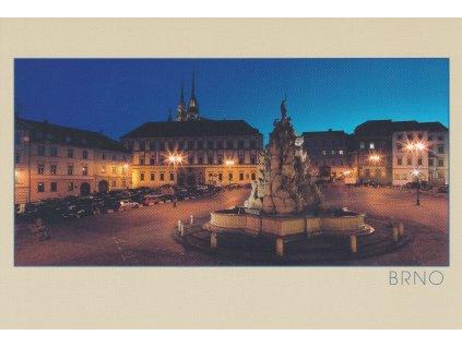 Pohlednice Brno - Zelný trh