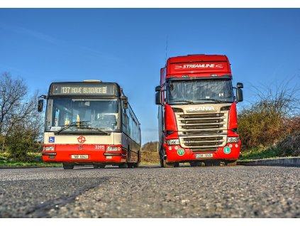 716 pohlednice autobus irisbus citibus 12m a scania r450 foto jan stastny
