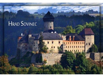 6035 2 pohlednice hrad sovinec