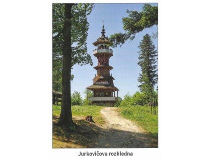 15851 3 pohlednice jurkovicova rozhledna