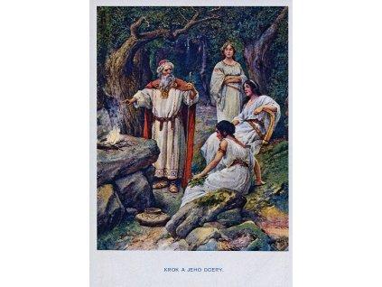 4454 1 pohlednice krok a jeho dcery