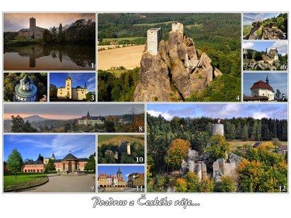 11489 3 pohlednice pozdrav z ceskeho raje