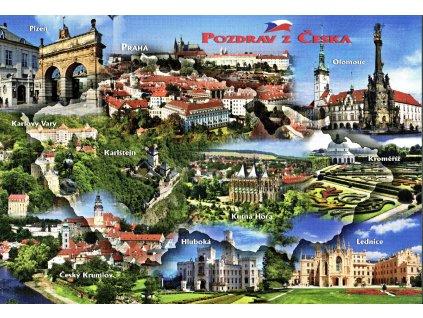 2051 2 pohlednice pozdrav z cr 1