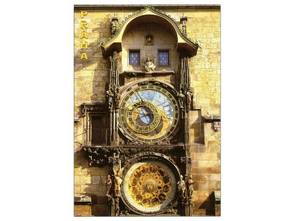 143 pohlednice praha orloj