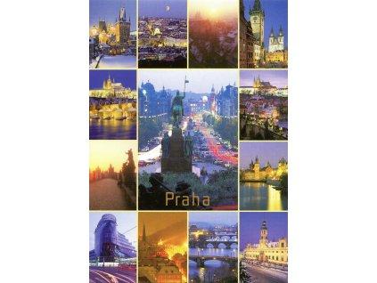 9224 2 pohlednice praha 28