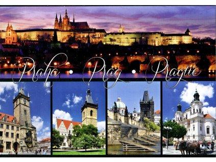 3128 2 pohlednice praha 5