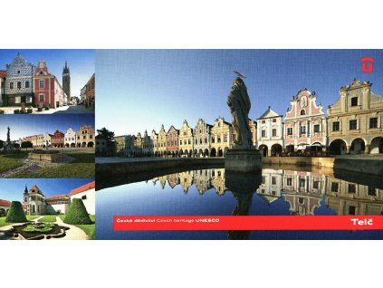 1463 2 pohlednice telc