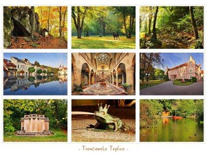 674 pohlednice trencianske teplice slovensko 21 15 5 cm