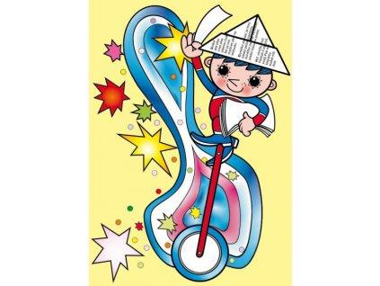 12581 3 pohlednice vecernicek na kole 2
