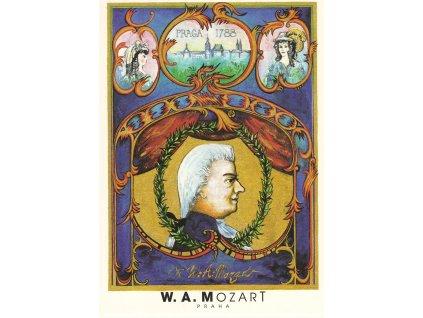 6761 2 pohlednice wolfgang amadeus mozart