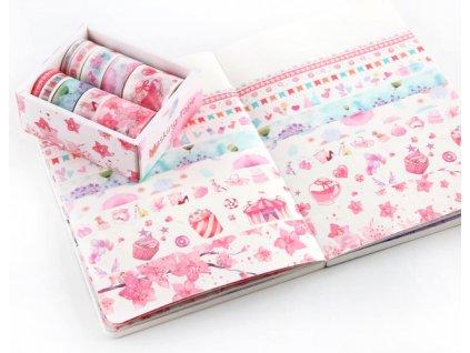10 rolls Kawaii Animal Unicorn Washi tape Scrapbooking masking tapes for card making DIY gift decor (1)