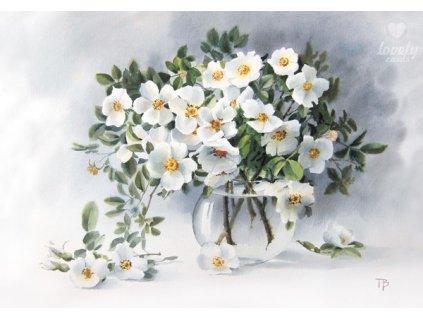 Pohlednice Něžné květy