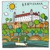 13937 2 pohlednice do bratislavy ctvercovy