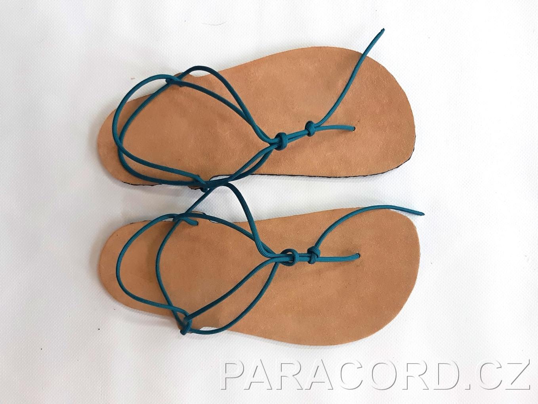 Návod / barefoot sandály