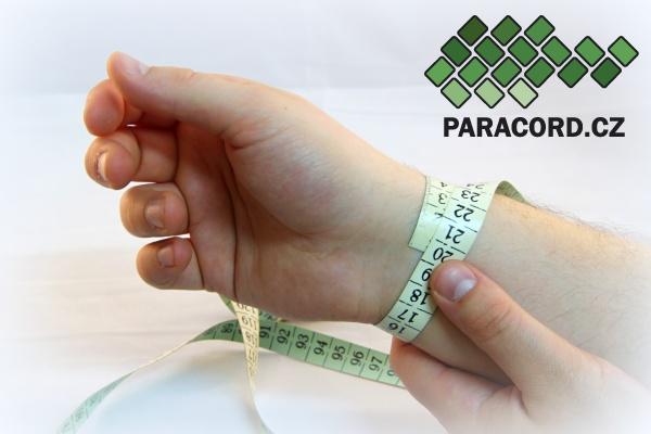Tabulka velikostí náramků