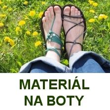 materiál na boty