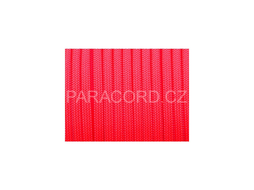 Paracord 550 - neon růžová