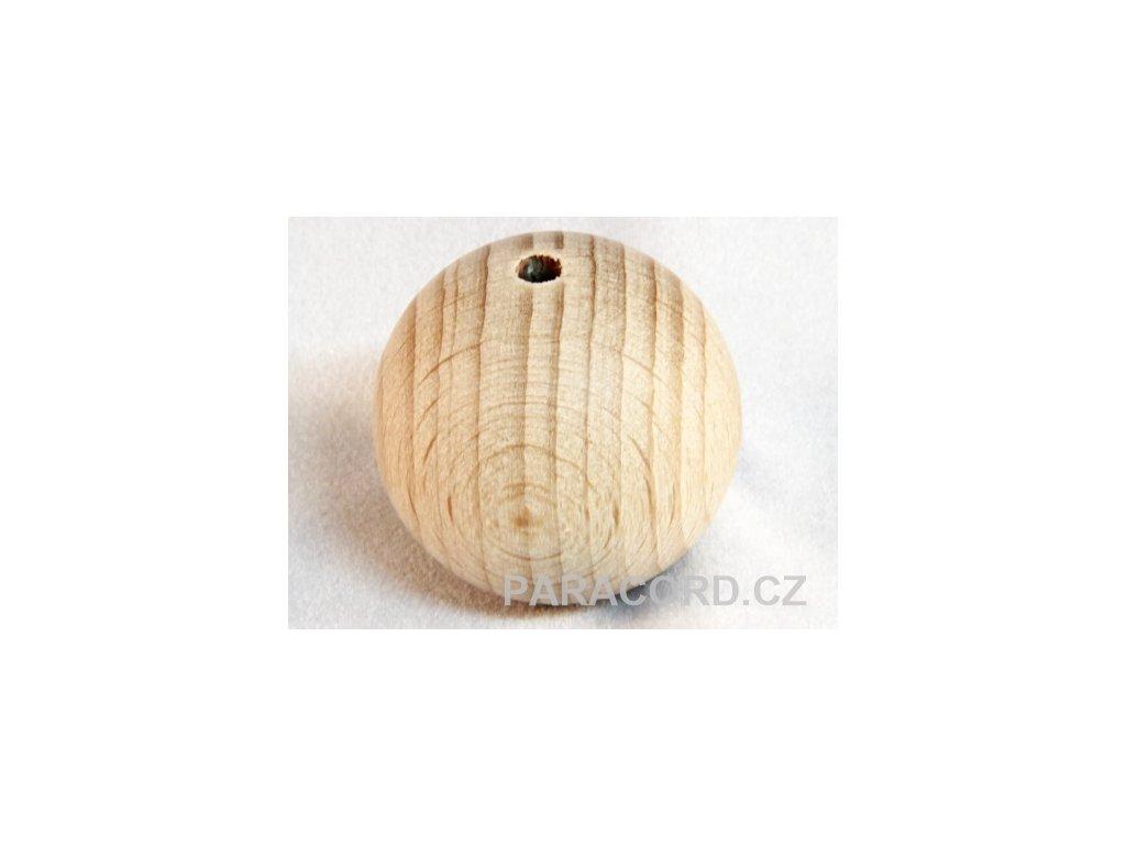 Kulička (korálek) dřevěná - 3cm