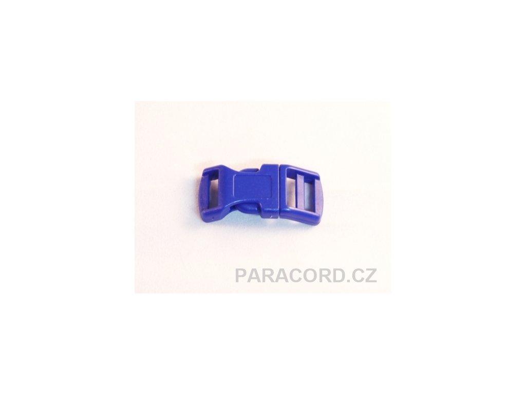spona trojzubec - modrá (13mm)