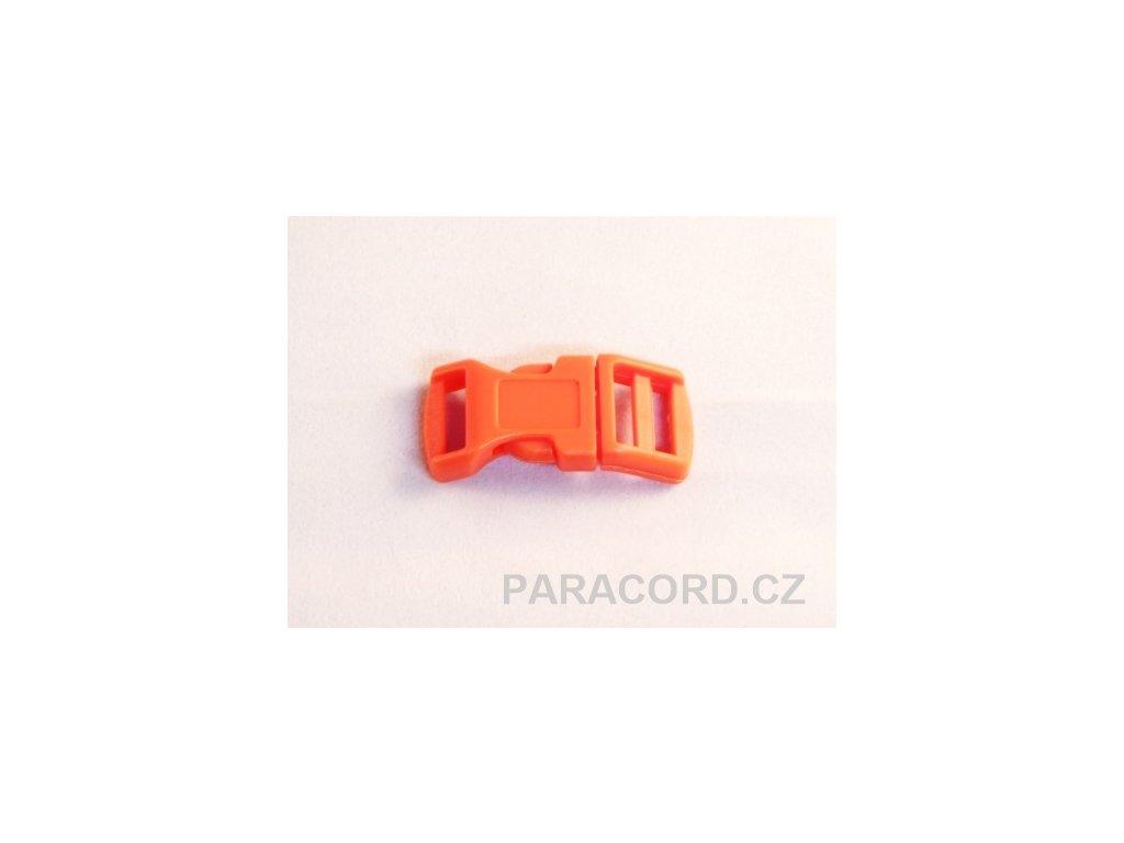 spona trojzubec - oranžová (13mm)