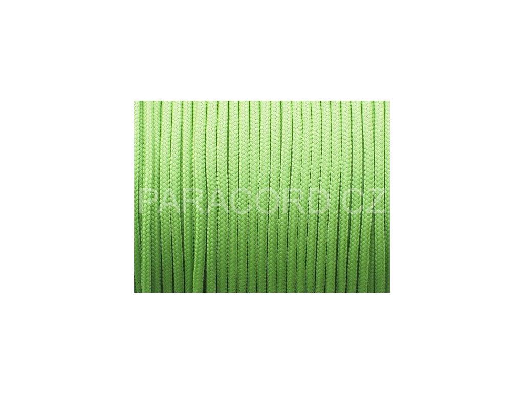 Paracord 100 - světle zelená