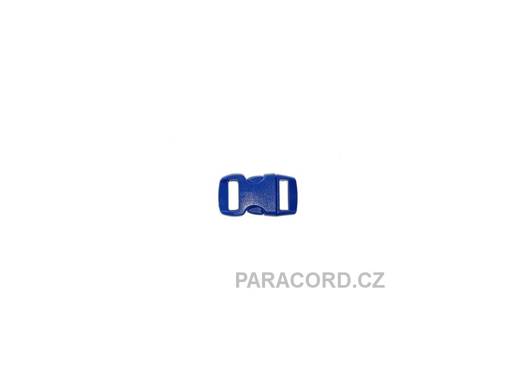 spona trojzubec - modrá (10mm)