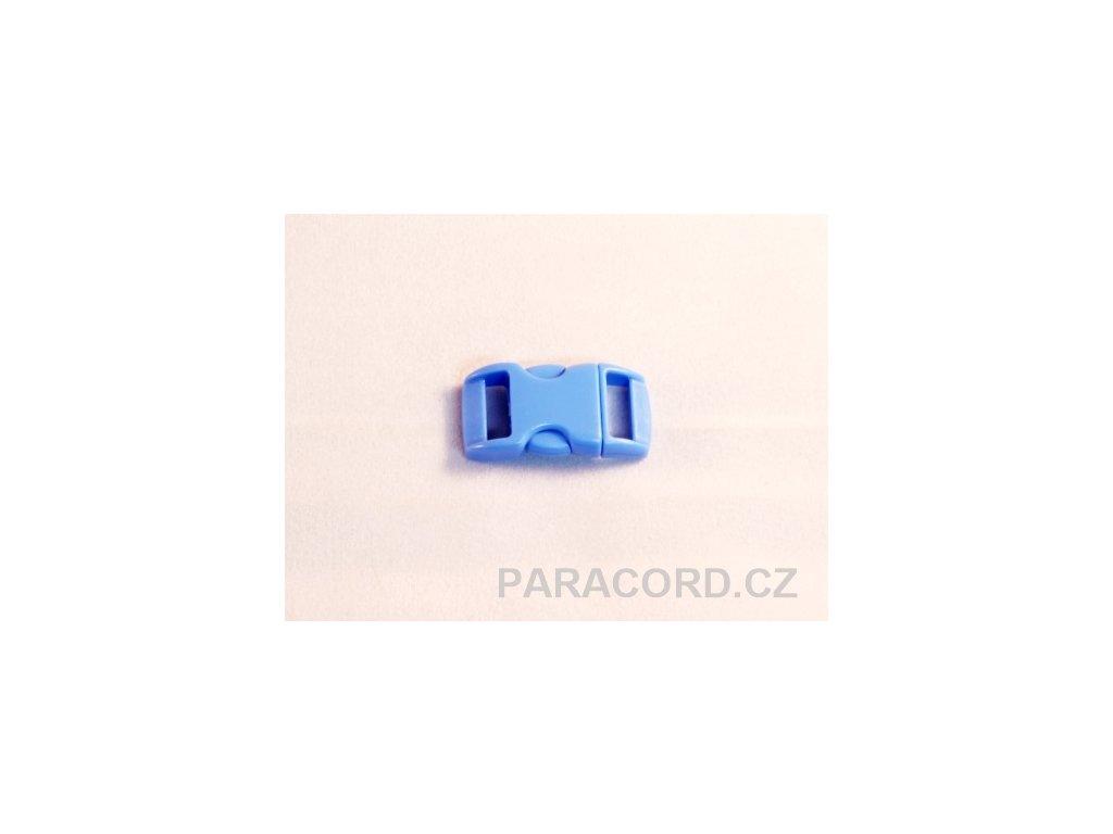 spona trojzubec - světle modrá (10mm)
