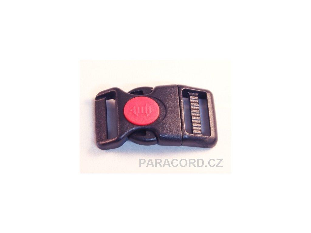 spona trojzubec s pojistkou (25mm)