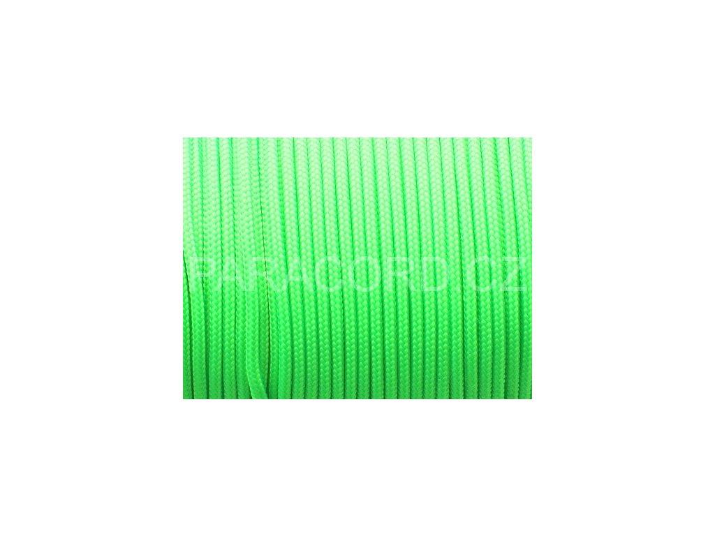 Paracord 100 - neon zelená