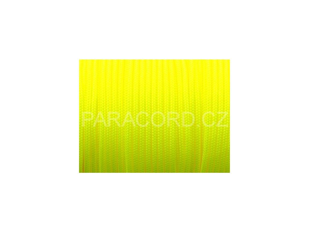 Paracord 100 - neon žlutá