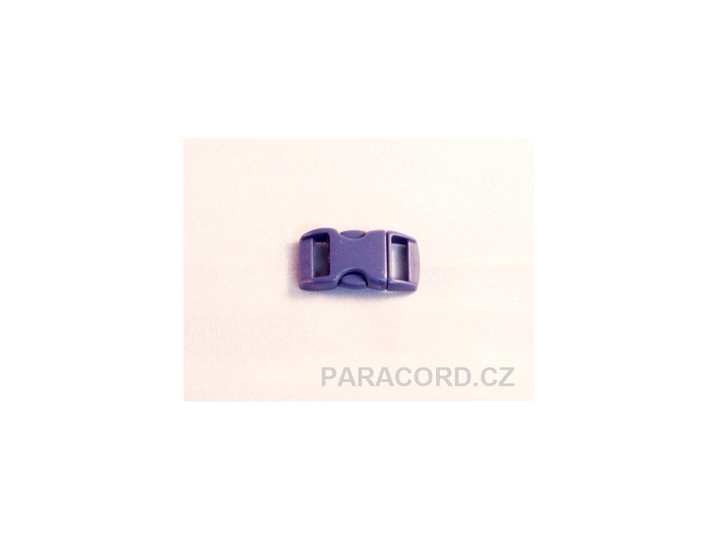 spona trojzubec - tmavě modrá (10mm)