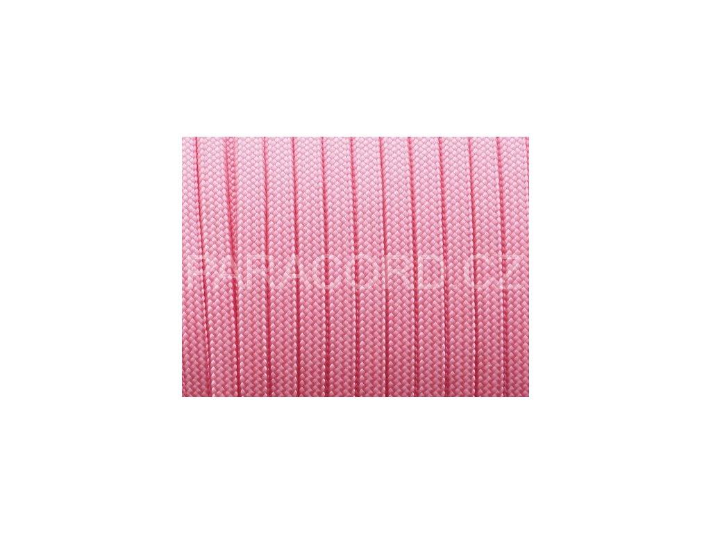 Paracord 550 - světle růžová