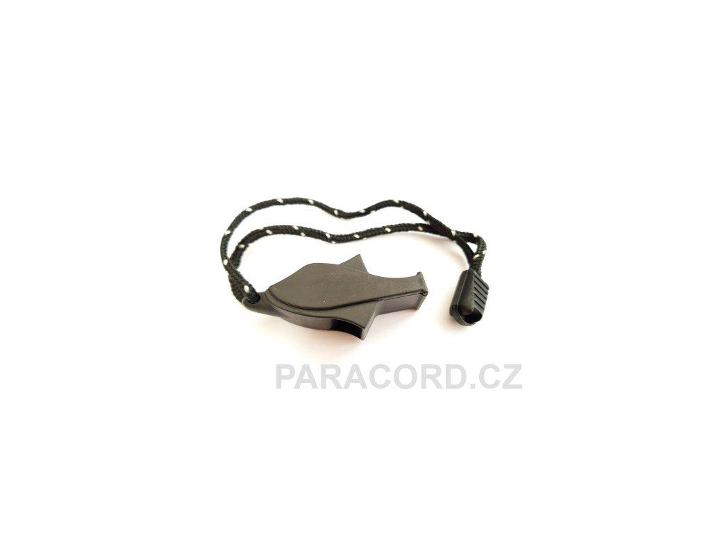 Nouzová píšťalka rybka - černá