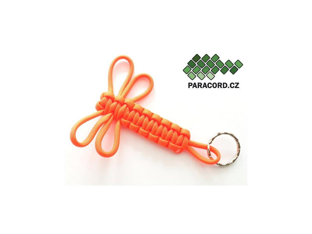 Survival přívěšek VÁŽKA - oranžová