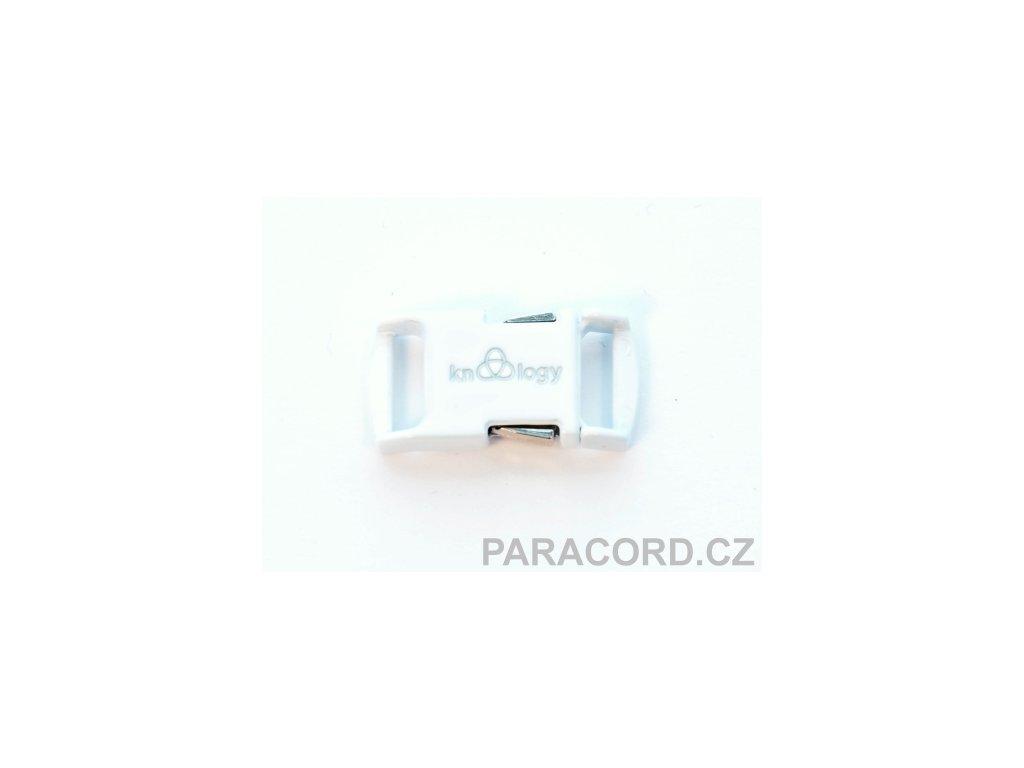 KNOTTOLOGY NITO .5 kovová spona - bílá