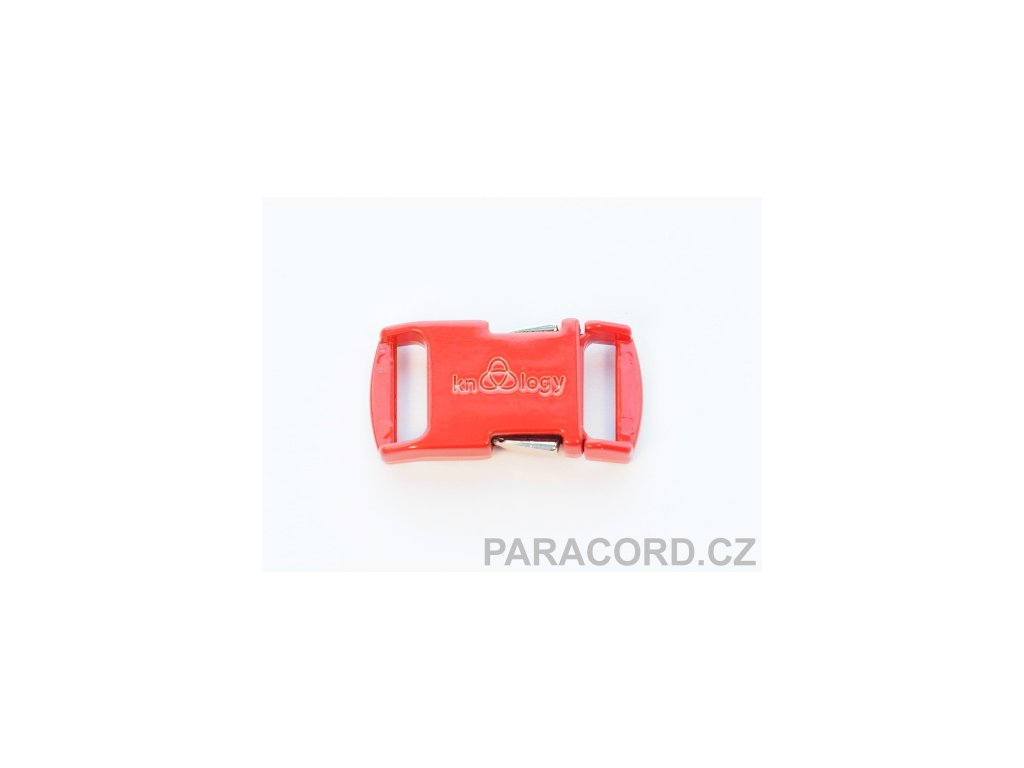 KNOTTOLOGY NITO .5 kovová spona - červená