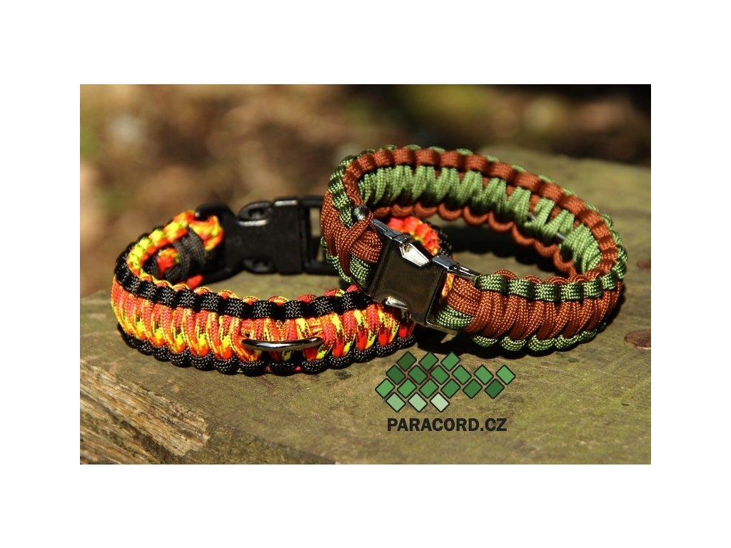 Obojek kobra SIMPLE (vlastní barvy, délka, spona)