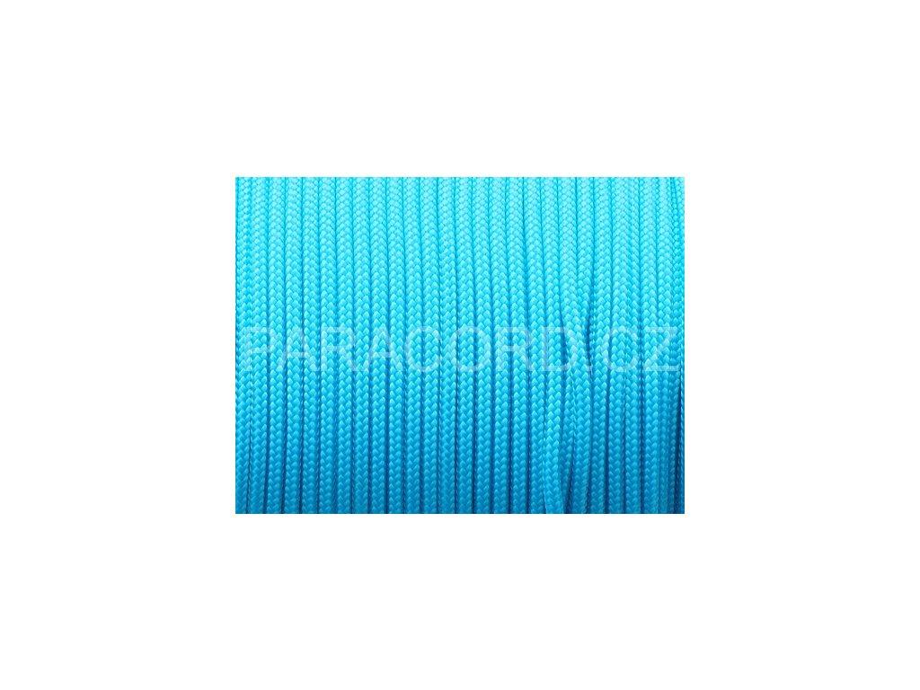 Paracord 100 - neon modrá