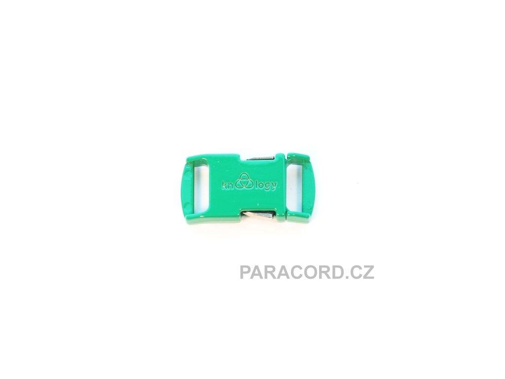 KNOTTOLOGY NITO .5 kovová spona - zelená
